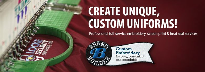 Professional full-service embroidery services