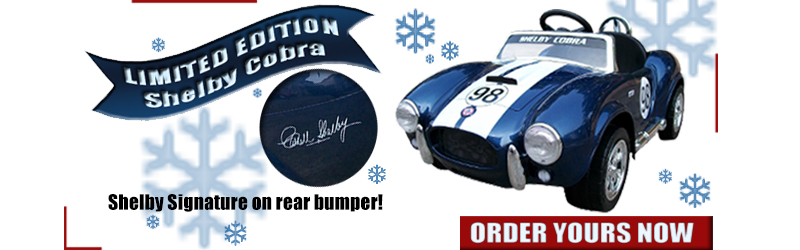 Limited Edition Shelby Cobra Pre-Sale