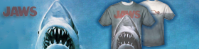 Check out our new Jaws Sublimation Tee shirt!