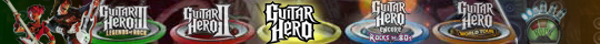 Guitar Hero Clothing