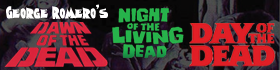Check out our George Romero's Living Dead Series apparel section