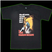 Check out our Texas Chainsaw Apparel