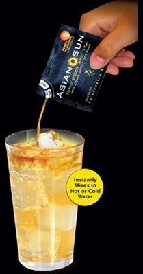 [Asian Sun Liquid Tea - Instantly Mixes in Hot or Cold Water.]