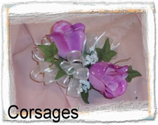 Corsage Silk Wedding Flowers