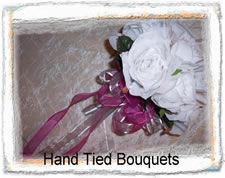 Hand Tied Silk Wedding Bouquets