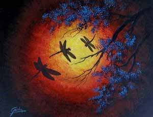 Night Song - Art by Griselda Tello