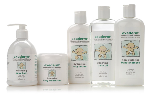Free Samples: Exederm Baby Care Line