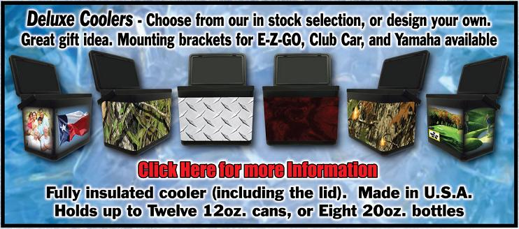 Cooler Holder For Golf Cart Deluxe Golf Cart Coolers And