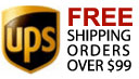 Free UPS shipping on orders over $99