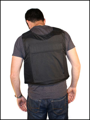 bulletproof vest rear view