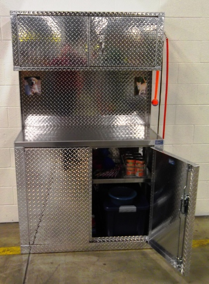 Pet Care Station and Storage Cabinets from Garage Pals