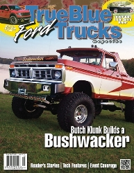 True Blue Ford Trucks Magazine with Garage Pals Product Review