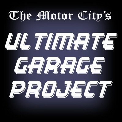Motor City Ultimate Garage Project With Diamond Plate Aluminum Garage Cabinets from Garage Pals