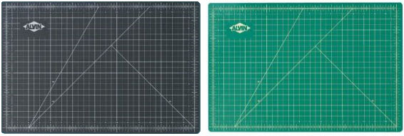 Green & Black Cutting Mat