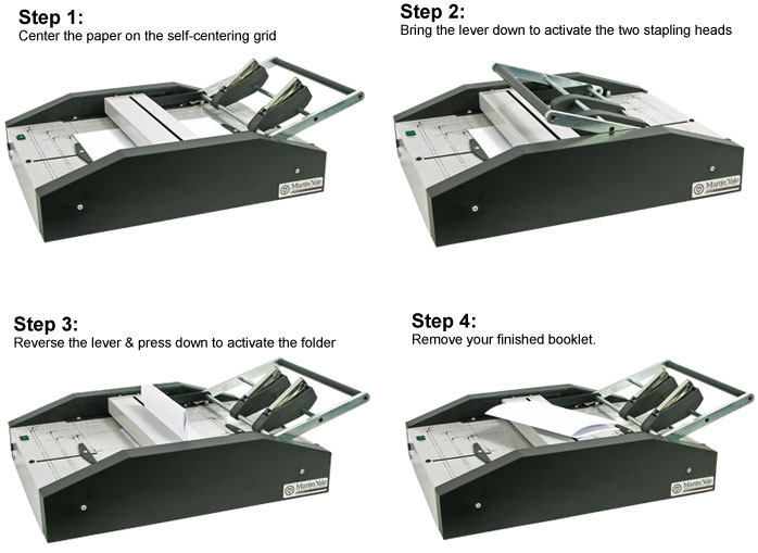 How to use the BM101 Booklet Maker