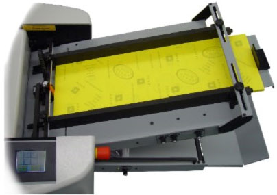 Baum 714XA Automatic Air-Fed Paper Folder Feed Tray