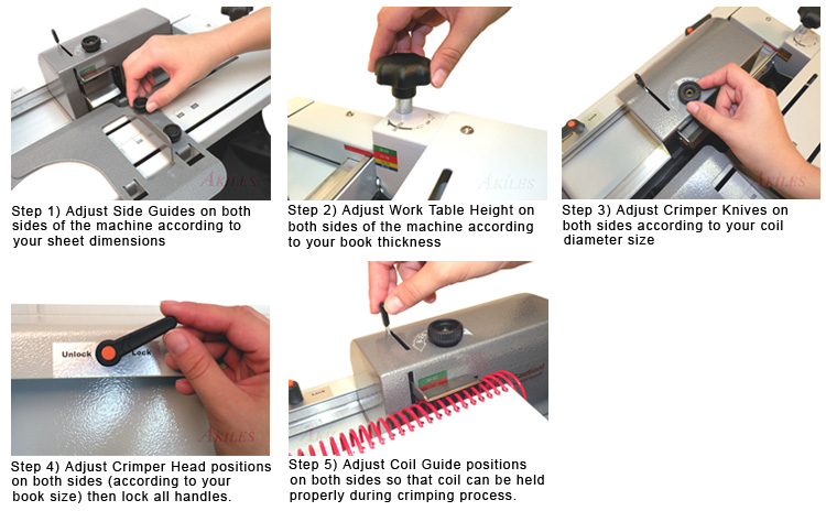 Akiles Crimp-@-Coil Instructions