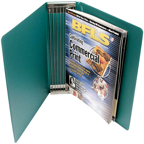 Example of a Customized Magazine Binder