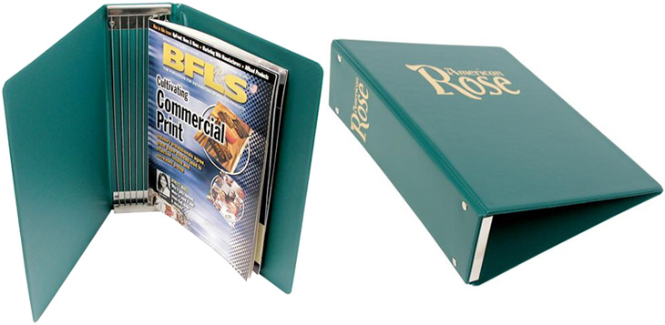 Custom Magazine Binders