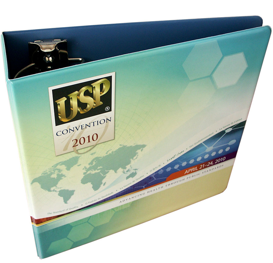 Example of a Customized Vinyl Binder