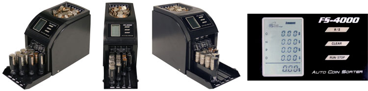 Royal Sovereign FS-4000 Coin Sorter