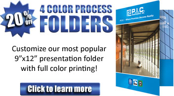 20% Off Custom Full Color Pocket Folders - Binding101