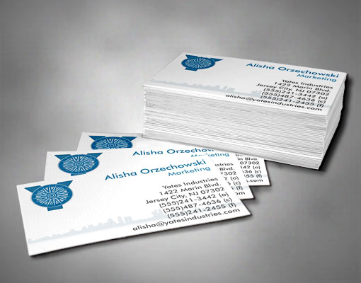 Example of Custom Business Cards