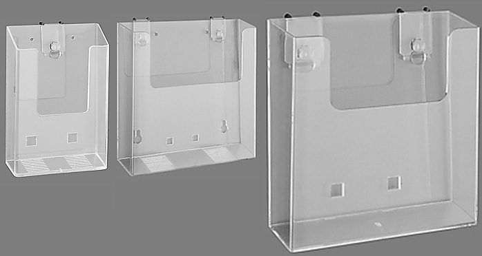 Wall-Mount Brochure Holder