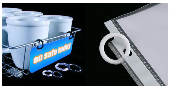 Plastic Binding Rings