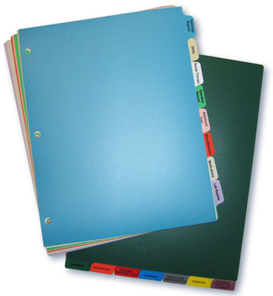 Polyethylene Index Tabs