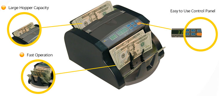 Royal Sovereign RBC-650 Pro Portable Bill Counter