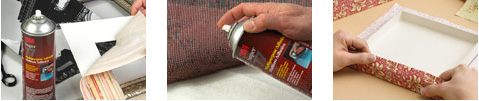 3M Super 77 Spray Adhesive Applications
