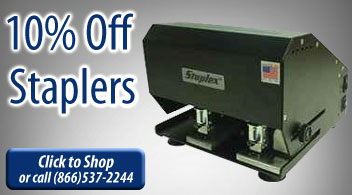 10% Off Staplers