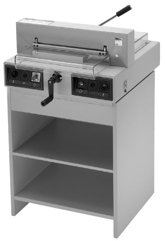 Triumph 4315 Electric Paper Cutter with Cabinet