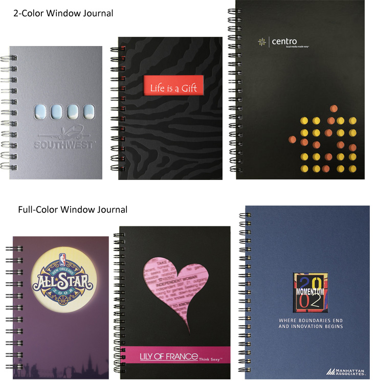 Custom Window Journals