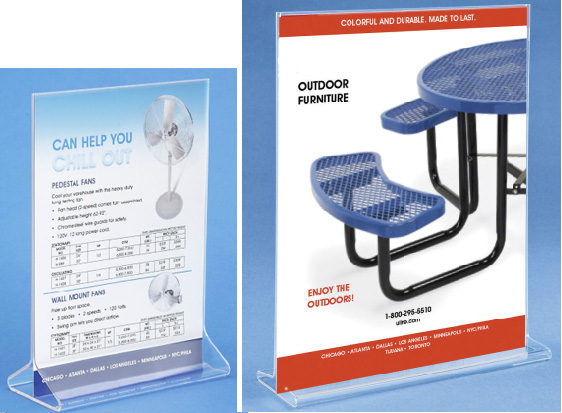 Table-Top Brochure Holder