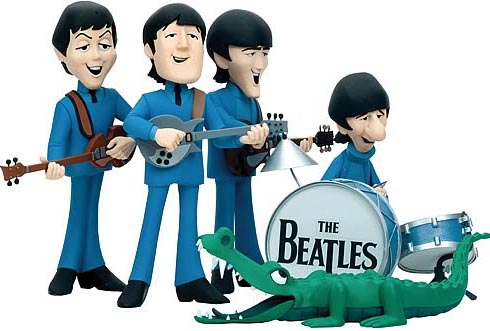 Mcfarlane Beatles Cartoon Action Figure Box Set