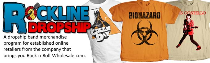 Dropship Band T-Shirt Program