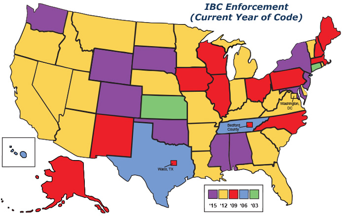 IBC Enforcement Code - US State by State