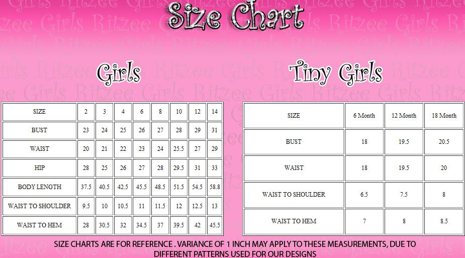 Girl Dress Size
