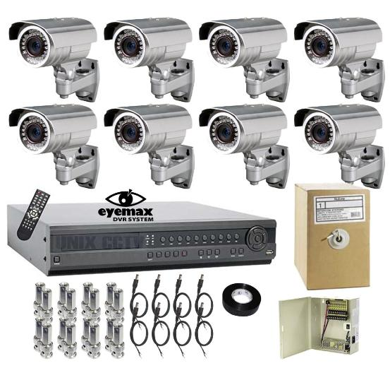 Best Cctv System Top Of The Line 8 Camera Security System