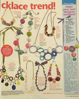 Article in March 29, 2010 Women's World