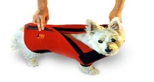 Dog Fleece Velcro Back ez-on-off