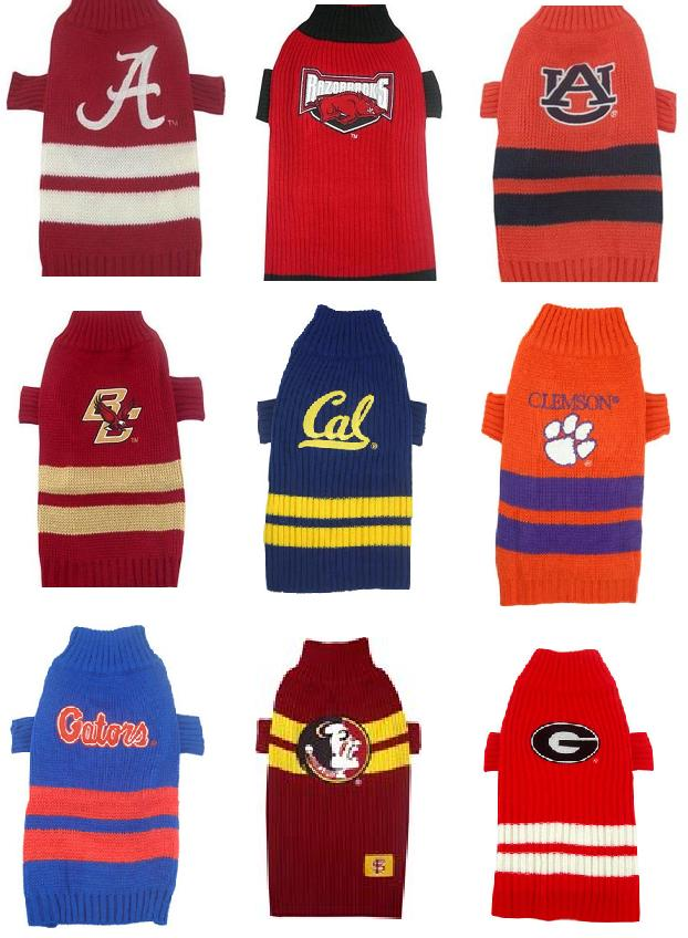 Alabama Crimson Tide Arkansas Razorbacks Auburn Tigers Boston College California Berkeley Clemson Tigers Florida Gators Florida State University Georgia Bulldogs