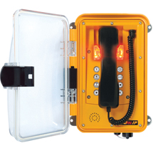 11264586 Enclosed VoIP Emergency Handset Phone with Keypad