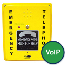 2100-986DIP Emergency Speaker (Hands Free & VoIP) Pool Phone