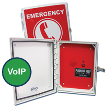 970RIP Emergency Speaker (Hands Free & VoIP) Pool Phone