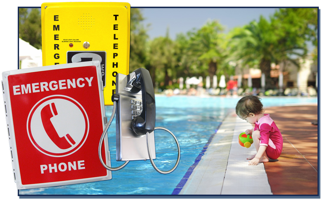 Emergency Pool Phones