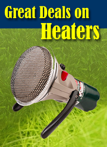 Tents Heaters