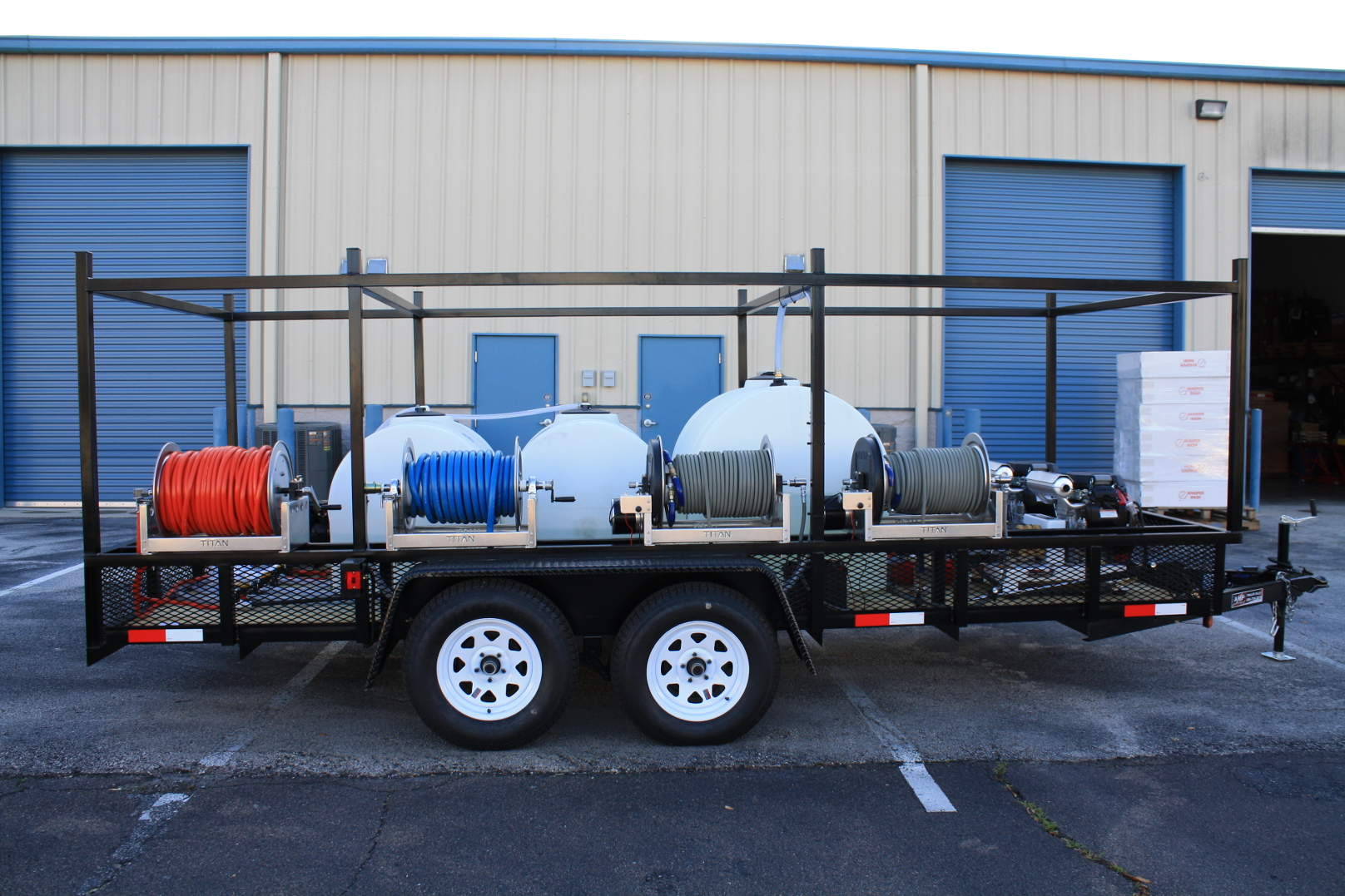 Custom Pressure Washer Trailers